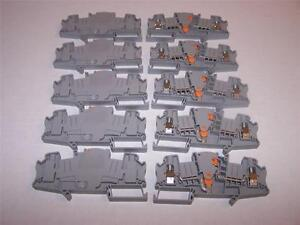 Phoenix Contact Utme 6 Disconnect Terminal Block 3047400 New Lot Of 10