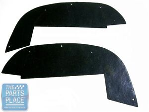 1968 69 Chevrolet Impala Inner Fender Splash A Arm Seals