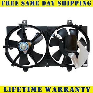 Radiator And Condenser Fan For Nissan Sentra Ni3115123