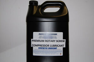 7120270000 Fiac 8000 Hour 1 Gallon Synthetic Rotary Air Compressor Oil