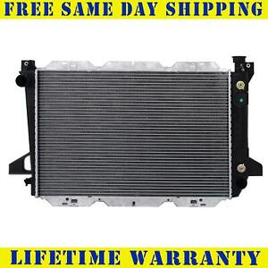 Radiator For 1985 1995 Ford F150 F250 Bronco V6 4 9l Fast Free Shipping