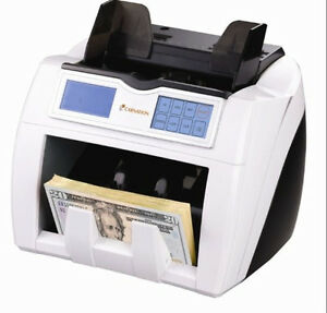 Carnation Cr2 Currency Counter With Triple Counterfeit Detection Uv Mg Ir