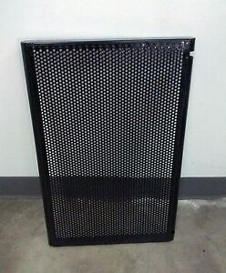 2ft Slat Or Grid Wall Perforated Metal Shelf white Or Black Set Of 4