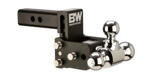 B w Tow And Stow Hitch Ball Mount 3 Drop Tri Ball Ts10047b