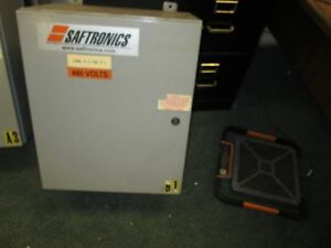 Saftronics Enclosed Soft Start 328x 50 Nema 4 12 Enclosure Used