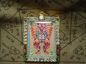 Magic Salika By Kruba Krissana Thai Buddha Amulet Pendant