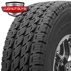 4 Nitto Dura Grappler Lt325 60r18 Tires 10 Ply