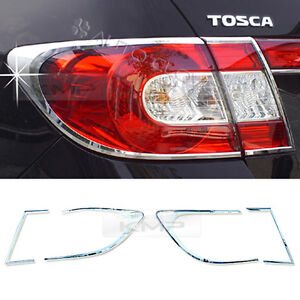 Chrome Rear Tail Lamp Molding Garnish A741 For Chevrolet 2008 2011 Epica Tosca