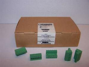 Phoenix Contact Mstb 2 5 6 st Printed Terminal Block New Lot Of 50