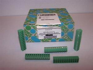 Phoenix Contact Smkds 1 12 3 81 Printed Pcb Terminal Block New Lot Of 50