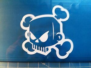 Ken Block Skull 5 Vinyl Window Decal Sticker Jdm Drift Fatlace Lot Of 2 Decals
