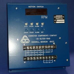 Conveyer Components 120vac Motion Switch Msd 700rw new