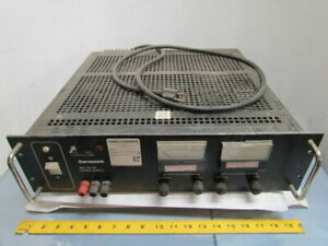 Sorensen Srl 20 25 Dc Power Supply 0 20 Volt 0 25 Amp Output