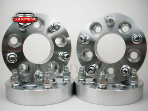 4 Wheel Spacers Adapters 5x5 To 5x4 50 1 25 5x127 To 5x114 3