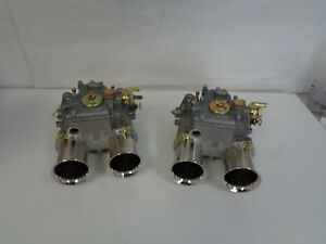 Genuine Weber 45 Dcoe Pair Two 45 Dcoe New Made In Spain W tuning Dvd Pm4545x2