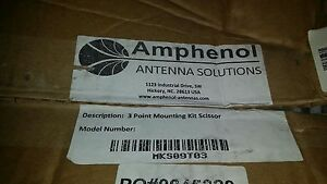 Amphenol Antenna Solutions Mks09t03 3 Point Mounting Kit