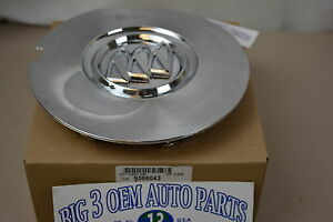 2008 2010 Buick Enclave Chrome Center Cap W Buick Shield Logo New Oem 9596043