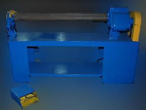 Pinch Type Powered Plate Roller For Rolling Sheet Metal