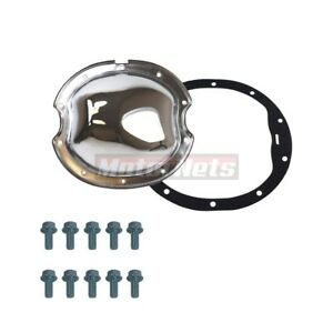 Chevy Gm 10 Bolt 8 2 Ring Gear Chrome Differential Cover Camaro Intermediates