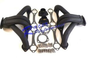 Small Block Chevy Painted Shorty Headers 283 400 Cid
