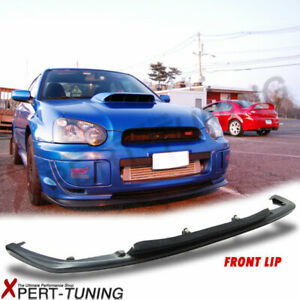 Fit For 04 Subaru Impreza Wrx S203 V limited Front Bumper Lip