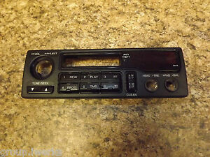 Oem Usdm Honda Civic Del Sol Sr2 Eg2 Rare Center Console Radio Face Panel Black