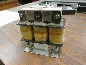 Tci Sine Guard Line Reactor Klr12btb 12a 600v 3ph Used