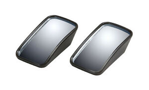 2 Pc 2 Rectangle Wedge Blind Spot Mirror Wide Angle Convex