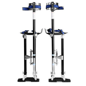 Black 24 40 Inch Drywall Stilts Aluminum Tool Stilt For Painting Painter Taping