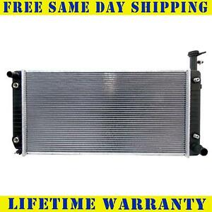 Radiator For 2004 2018 Chevy Express 2500 3500 Gmc Savana 4 8 6 0l Free Shipping