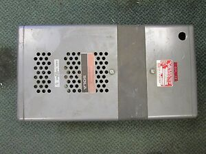 Sola Constant Voltage Transformer 25 399 6g98 1500va Used