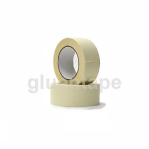 Masking Tape 2 60 Yards White Paper Nature Rubber Adhesive 9 Rolls