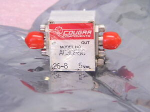 New Cougar Ac3055c Sma 10mhz 3ghz Cascadable Amplifier 17 5dbm