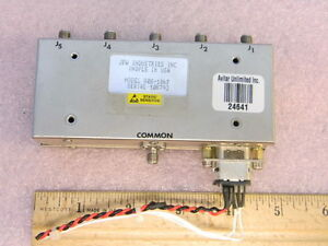 Jfw 50s 186f Sma Rf Coaxial Switch 1p5t Dc 200mhz
