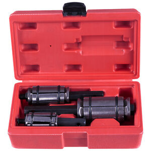 New 3 Pc Muffler Tail And Exhaust Pipe Expander 1 1 8 To 3 1 2 Tool Set W Case