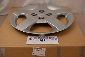 2005 2006 2007 2008 Chevrolet Cobalt 15 Silver 5 spoke Wheel Cover Hub Cap Oem
