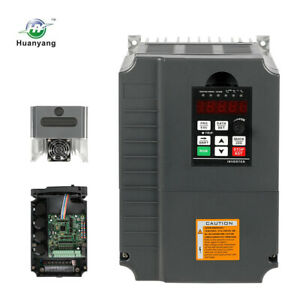 Vfd Variable Frequency Drive 220v 7 5kw 10hp 34a Inverter