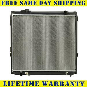 Radiator For 1995 2004 Toyota Tacoma V6 L4 Measure Core 22 5 8 Between Tanks