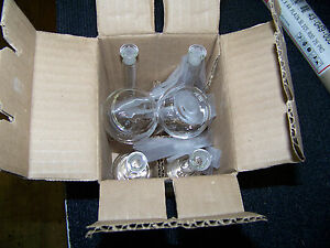 Vwr Volumetric Flask Class A 50ml With Glass Stopper 6 Ea New In Box