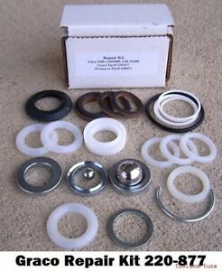 Aftermarket Pump Repair Kit For Graco Airless Paint Sprayer 220 877 220877