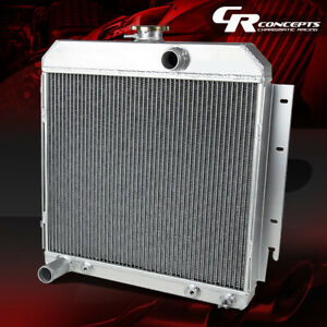 For 63 67 Dodge Dart Charger Station Wagon Three Row Core Full Aluminum Radiator