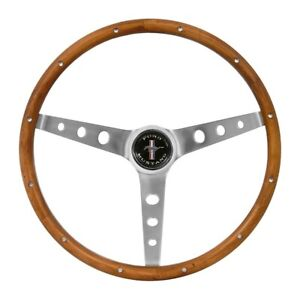 Mustang Steering Wheel Grant Wooden Wheel Wood Walnut 1964 1965 1966 64 65 66 67