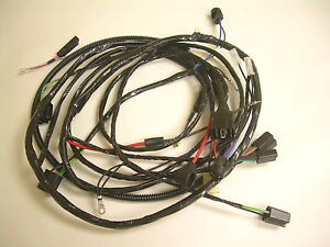 1960 Impala Belair Forward Light Wiring Harness Internal Regulated Alternator