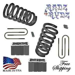 1982 2004 S10 Sonoma Blazer Jimmy S15 3 4 Lowering Kit Lowering Springs Blocks