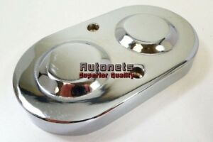 Master Cylinder Cover Top Cap Double Gm Chrome Aluminum Chevy Pontiac Hot Rod