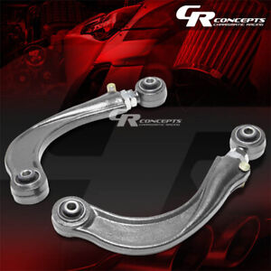 Adjustable Rear Upper Camber Kit arm Suspension For 00 06 Toyota Celica Silver