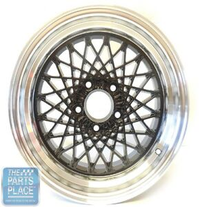 1982 92 Pontiac Trans Am Buick Skylark Regal Front Wheel 0 Off Set Black 16 X 8