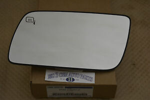 2009 2012 Ford Flex Dual Power Heated Lh Driver Side View Mirror Glass Oem