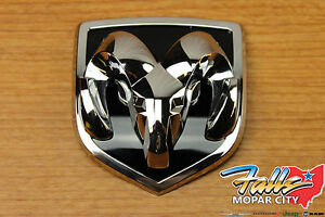 2002 2005 Dodge Ram 1500 2500 3500 Ram s Head Grille Emblem Badge Mopar Oem