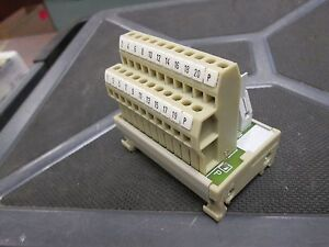 Weidmuller Terminal Block 815560 Rsf20lpk2h 22 New Surplus
